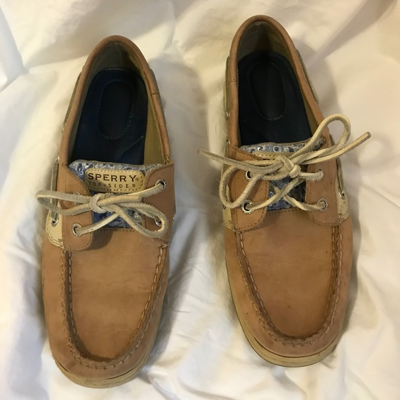 Women's Sperry Top Sider Koifish Boat Shoe Size 8